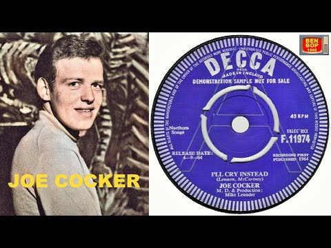 Joe Cocker – I'll Cry Instead (1964, Vinyl) - Discogs