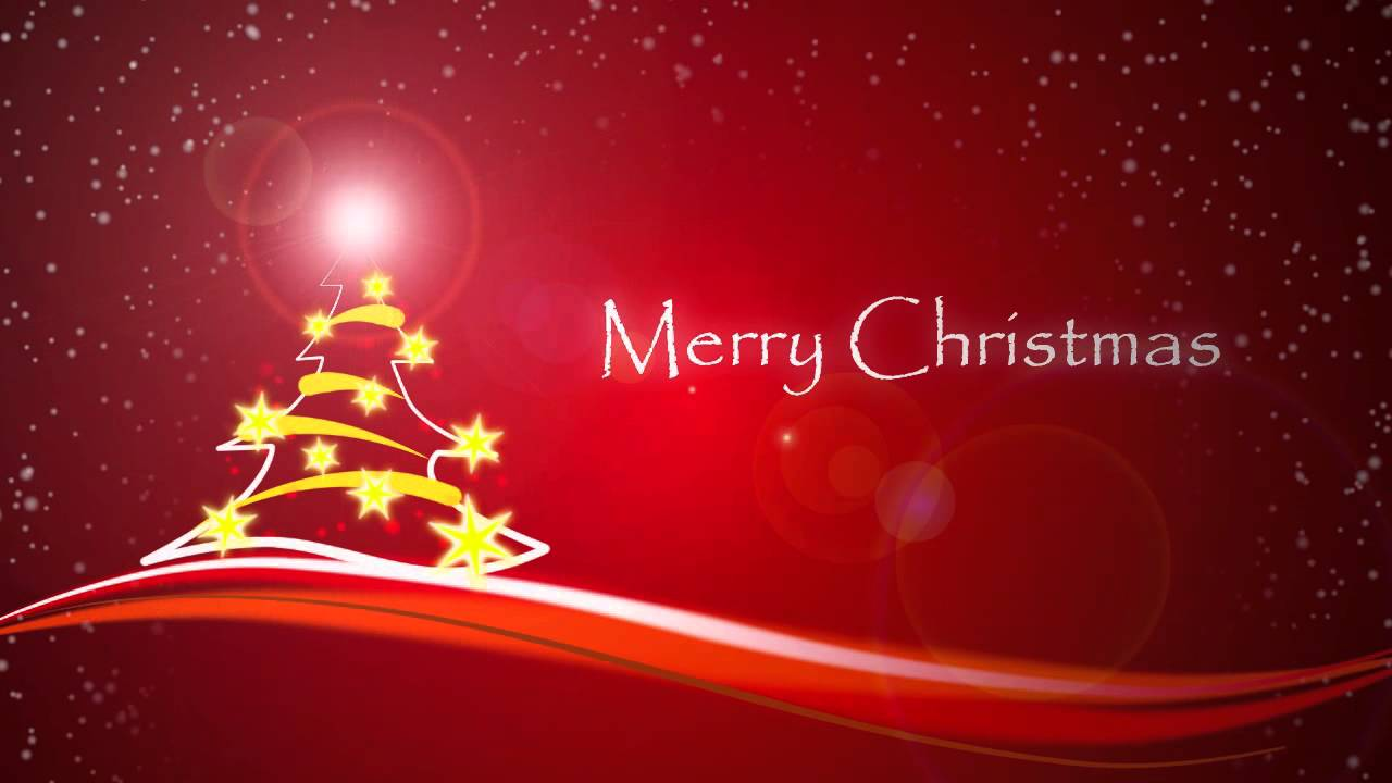 Merry christmas animation card youtube m4hsunfo