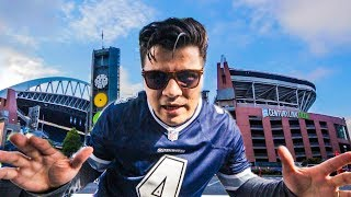 Crashing the Seattle Seahawks Tailgate Party