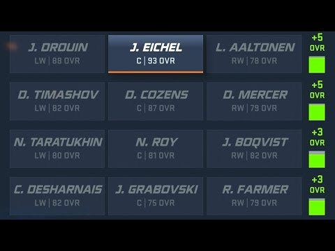 NHL 20 FRANCHISE - CHEMISTRY