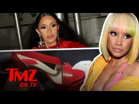 Cardi B Really HATES Nicki Minaj   TMZ TV