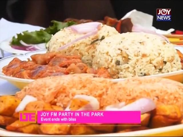 Joy FM Party in the park - Lets Talk Entertainment on Joy News (28-11-16)
