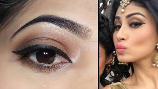 Mouni Roy Nagin inspired eye Makeup #Shorts