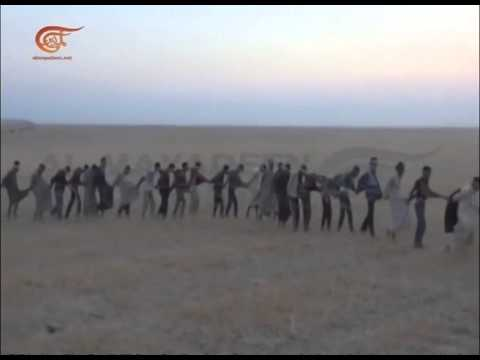 Isis terrorists captured by iraqi hizbullah forces