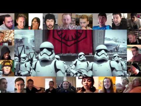 Reaccion de la Gente tras el Trailer de Star War 7 Chsm, SJM LIMA
