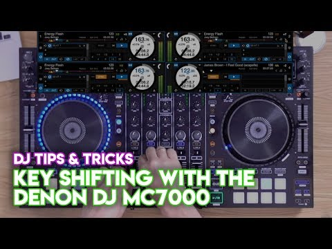 Serato DJ Pro Mix Tips & Tricks #2: Key Shifting With The Denon DJ MC7000