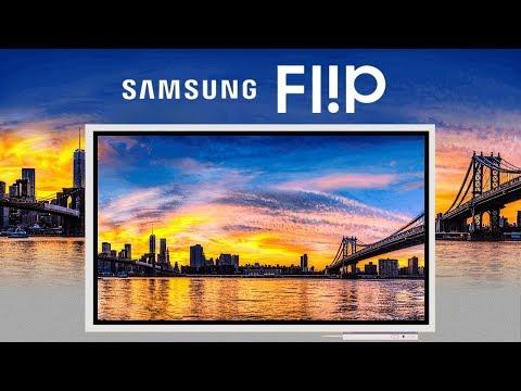 Samsung Flip / Firmanın Yeni Flipboard'unu Denedik!