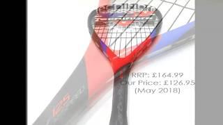 Prince Pro Rebel Nano 75 Graphite Badminton Racket 6 Shuttles RRP £110