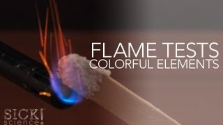 Flame Test Colorful Elements - Sick Science! #146