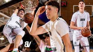 LaMelo Ball's FIRST Drew League Season BEST HIGHLIGHTS: The LAMELO SHOW Comes To COMPTON!