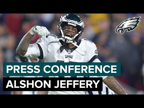 Alshon Jeffery: 'We Gotta Keep Building From This' | Eagles Press Conference
