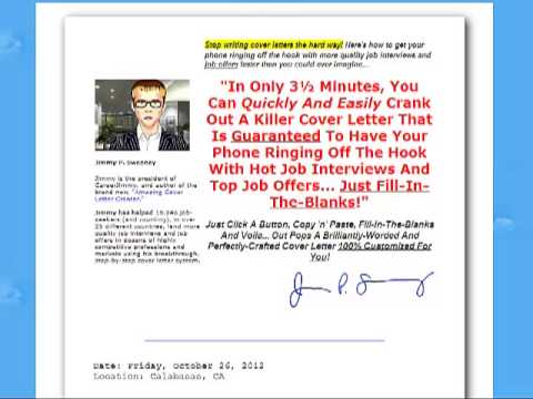 Amazing Cover Letters for Job Seekers-Review of Amazing Cover