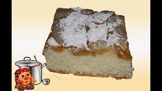 Простой рецепт / Шарлотка с яблоками в духовке