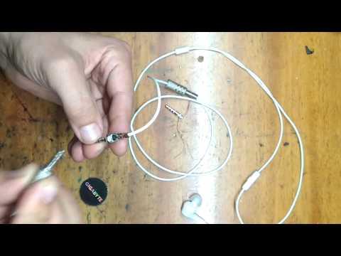 Ремонт наушников 4 контакта