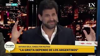 """El """"Durán Barba español"""", Antonio Sola, con picantes definiciones políticas"""