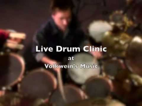 Todd Sucherman - Live Clinic at Volkwein's Music