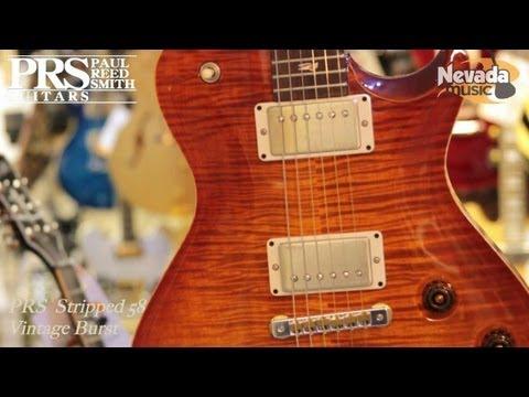 PRS Stripped 58 Guitar in Vintage Burst - Quick Look @ Nevada Music UK