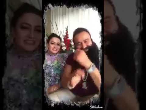 Gurmeet Ram Rahim and Honey Preet Romance Video | बाबा रहीम और बेटी हनीप्रीत