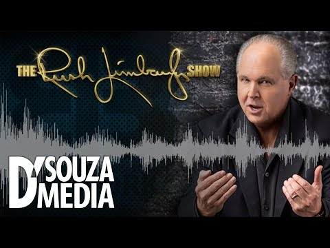 Rush Limbaugh airs D'Souza interview torching Democrats for Nazi link