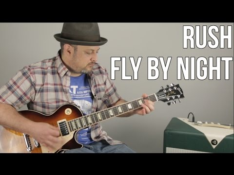 Rush - Fly By Night - Guitar Lesson - How to Play - Tutorial