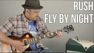 Rush Fly By Night Guitar Lesson How To Play Tutorial