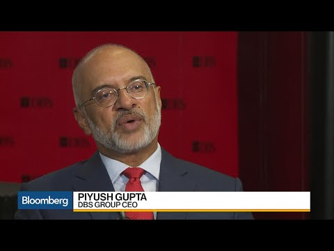 DBS CEO Gupta Says Digitization Is Driving Revenue