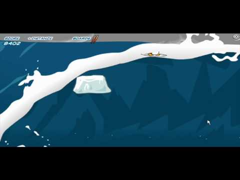 Club Penguin How to complete Catchin' waves survival mode ★★★★★