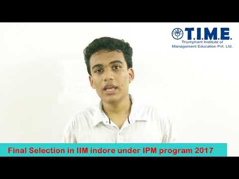Meet Nishant Shah - Selected for IPM program of IIM Indore