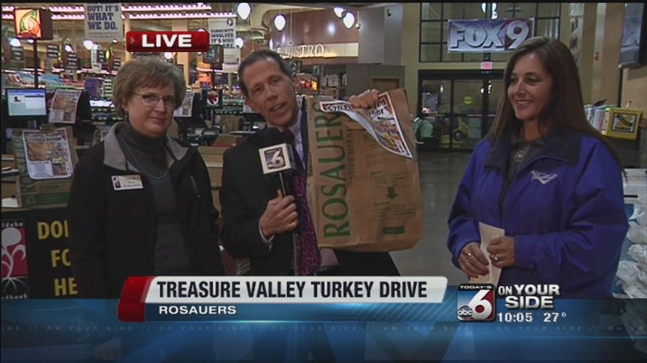 Treasure Valley Turkey Drive: Scott Dorval talks to Adam Roe Painting about why they donated