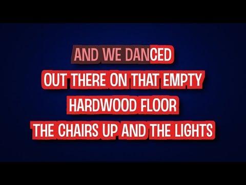 We Danced - Brad Paisley   Karaoke