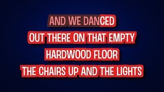 We Danced - Brad Paisley | Karaoke LYRICS