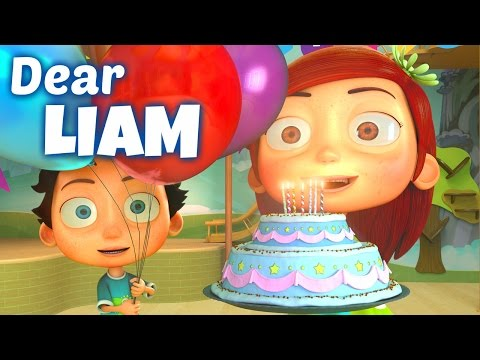 Happy Birthday Song to Liam