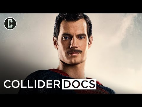 Superman Mustache Justice League Documentary - Collider Docs