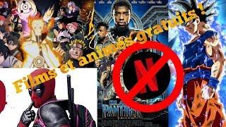 5 SITES pour regarder des films et animes GRATUITEMENT ( 2018 )