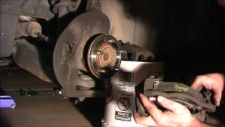 2002 Ford Explorer: Replacing the front brake pads and rotors