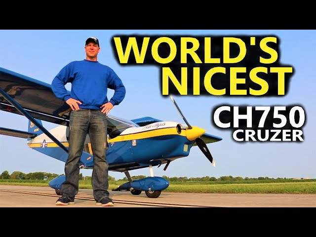 Blue Angels Cruzer | Worlds Nicest CH750 Cruzer