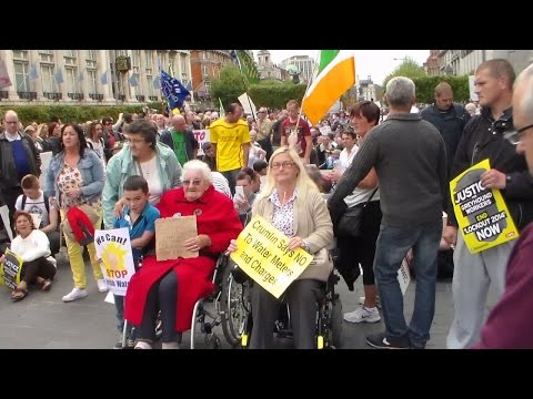 Dublin water protest september 20 2014