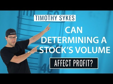 Can Determining a Stock's Volume Affect Profit?