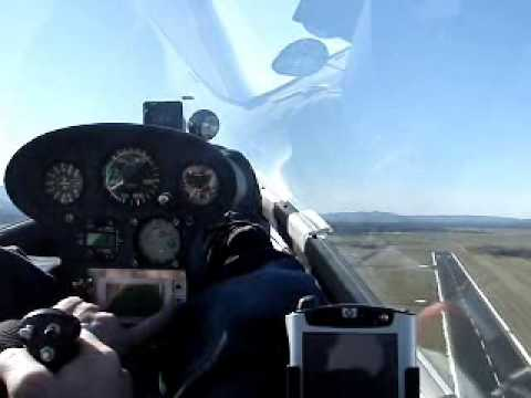 EA1 powered by EMRAX motor - up to 3000 Ft for 4,5 min - 27 Feb 2010 wmv