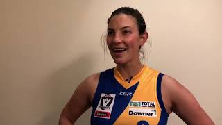 Seagulls Media | Emma Inglis post game - VFLW