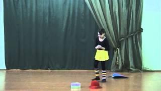 Настя Сидякина - пантомима 'Дождь'