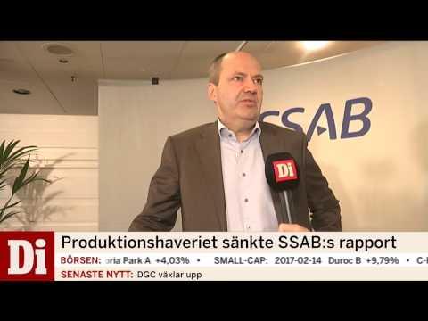 Produktionshaveriet sänkte SSAB