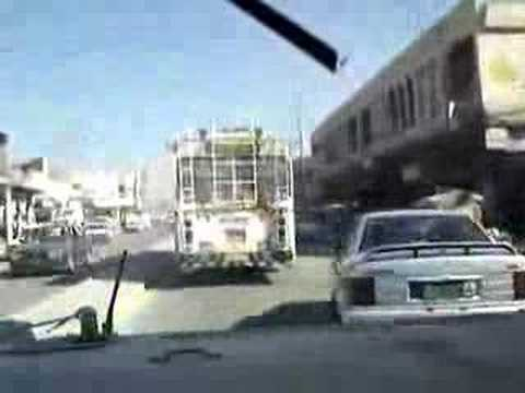 Drive with a Hummer thru Baghdad!