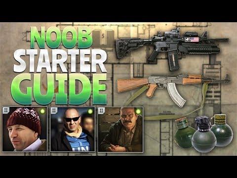 NOOB Starter GUIDE (Escape From Tarkov)