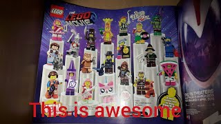 THE LEGO MOVIE 2 MINIFIGURES ARE AWESOME!