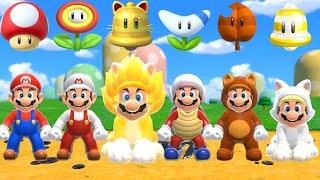 Super Mario 3D World + Bowser's Fury - All Power-Ups