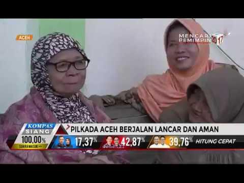 Pilkada Aceh Berjalan Lancar Dan Aman