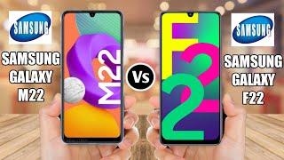 Samsung Galaxy M22 Vs Samsung Galaxy F22