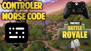 Morse Code About Tilted Towers In Fortnite BR