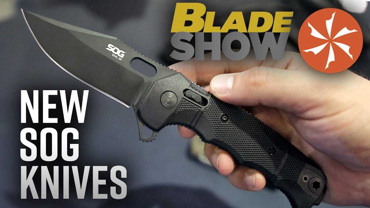 New SOG Knives at BLADE Show 2019: Knife Center